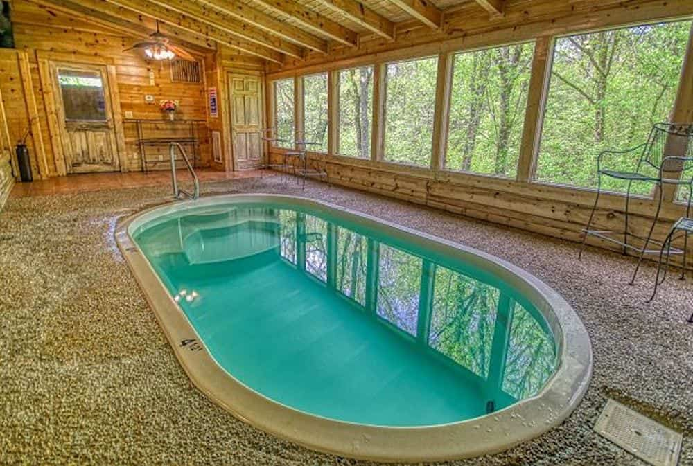 Top 5 Indoor Pool Cabins In The Smoky Mountains Near Dollywood Gatlinburg