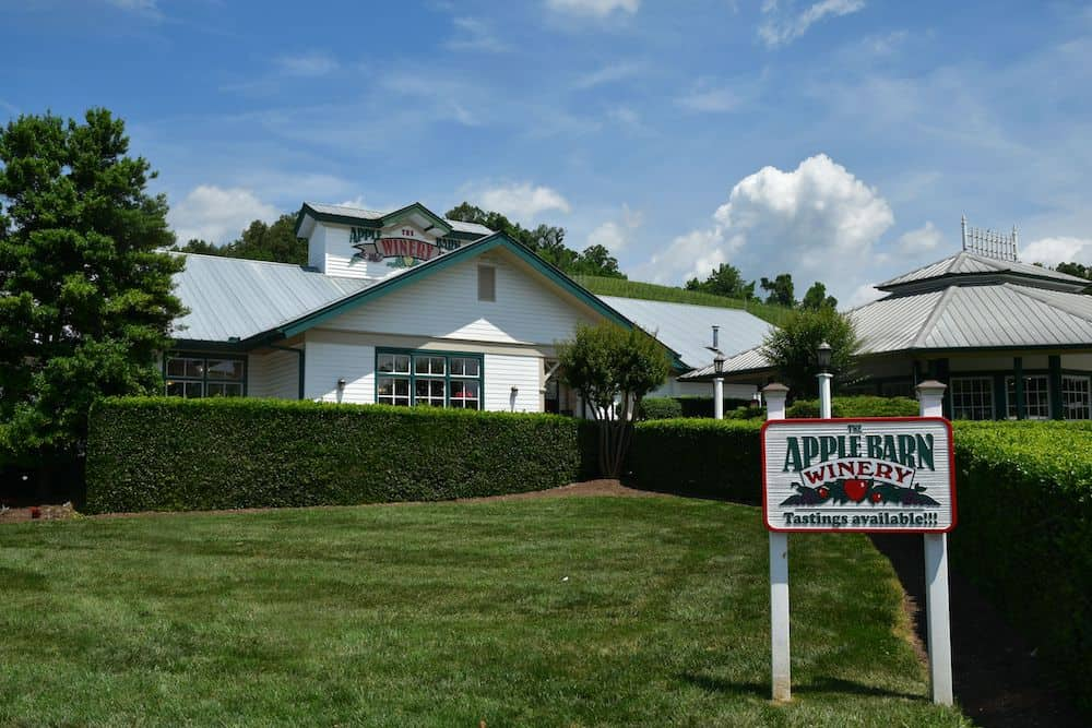 Apple Barn Winery in Sevierville