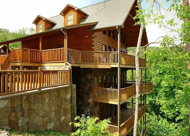 The Redneck Ritz cabin rental in Gatlinburg Tennessee.