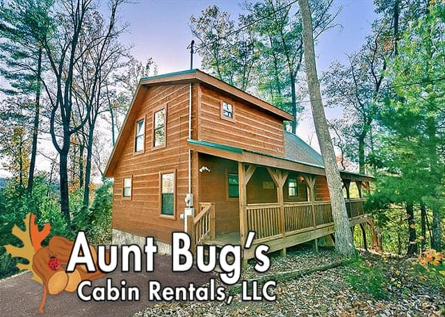 Aunt Bug's Cabin Rentals, LLC exterior photo of rental cabin in Pigeon Forge TN