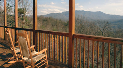 awesome views from one of the best cabins in gatlinburg