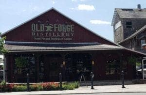 old forge distillery in old mill square