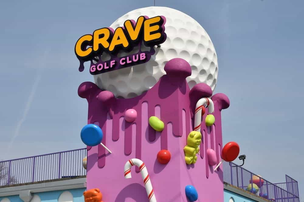 crave golf club